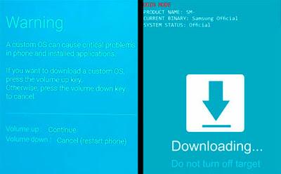 Cara Root HP Samsung Galaxy J7 Pro SM-J730G Dan Instal TWRP Recovery