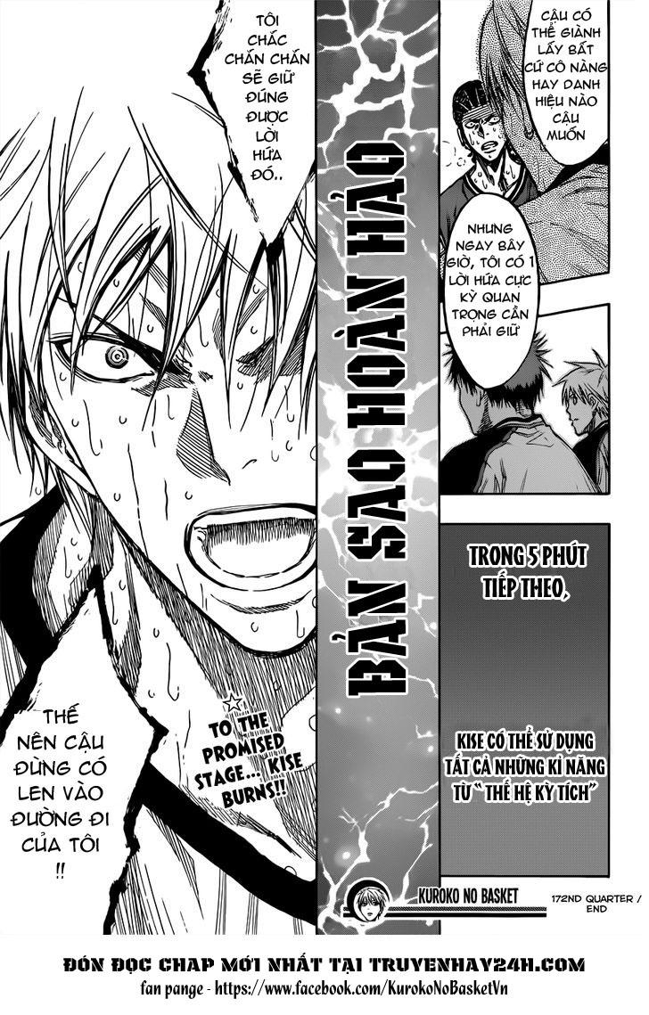 Kuroko No Basket chap 172 trang 19