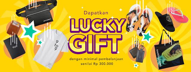 #9to9 - #Promo Dapat Lucku Gift Setiap Belanja Min 300K (s.d 30 Nov 2019)