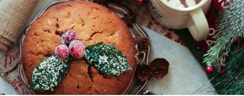 Easy Gluten-Free Christmas Cake by Kate On Thin Ice