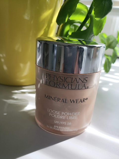 physicians formula mineral wear loose powder foundation
