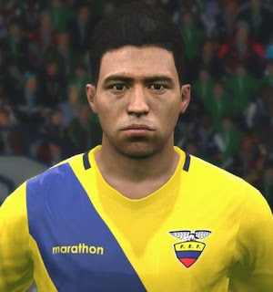 PES 2017 Faces Christian Noboa by FaceEditor Jefferson_SF