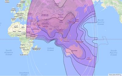 Satelit Asiasat 7 105.5°E CBand