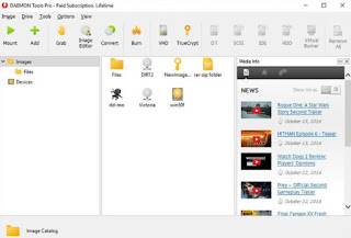 Features of the Daemon Tools