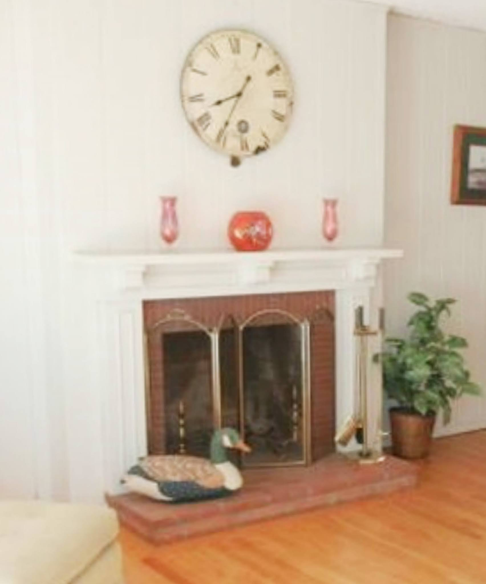 CAD Interiors fireplace makeover and living room remodel