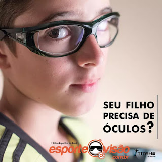 óculos infantil para esportes