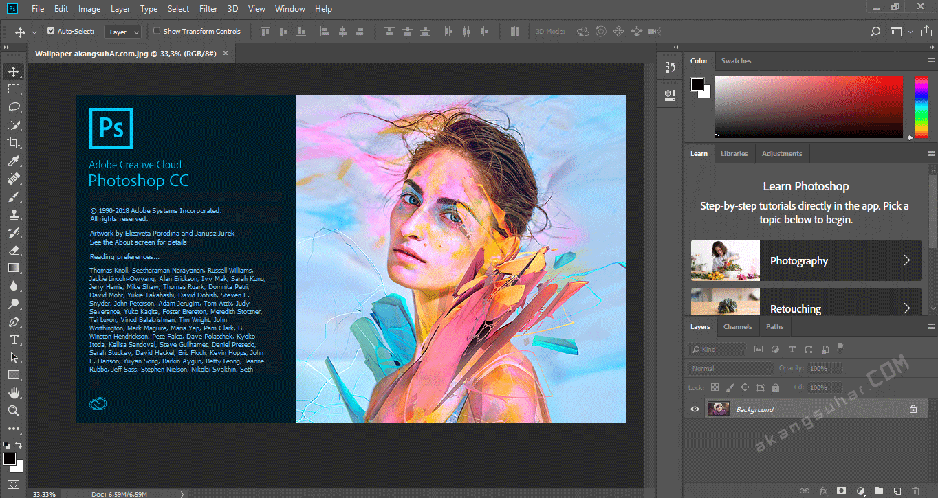 Gratis Download Adobe Photoshop CC 2018 Full Crack Terbaru