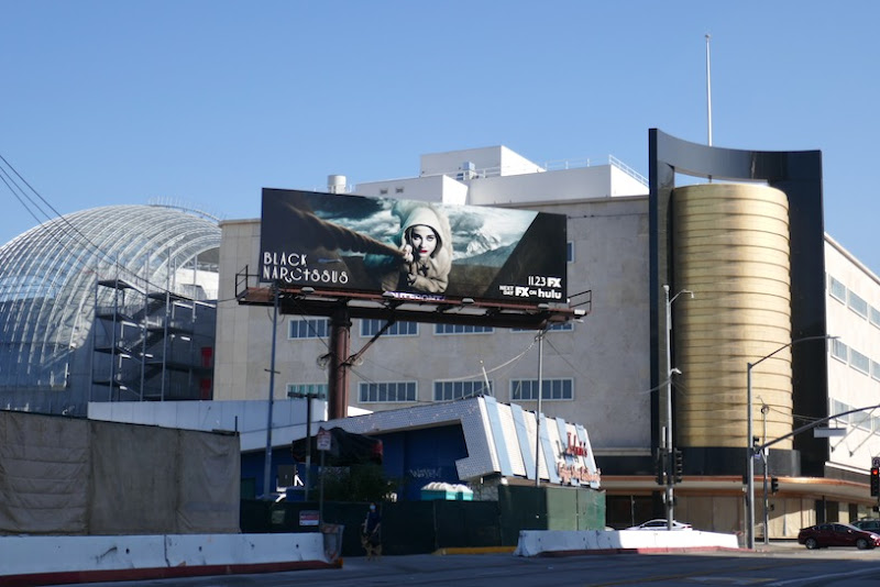 Black Narcissus FX series billboard