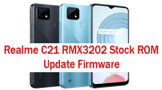 Realme C21 RMX3202 Stock ROM