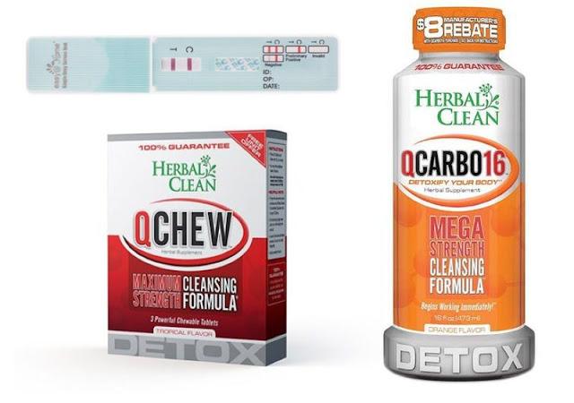 Fast THC / Marijuana Detox Kit for People Under 200 Lbs