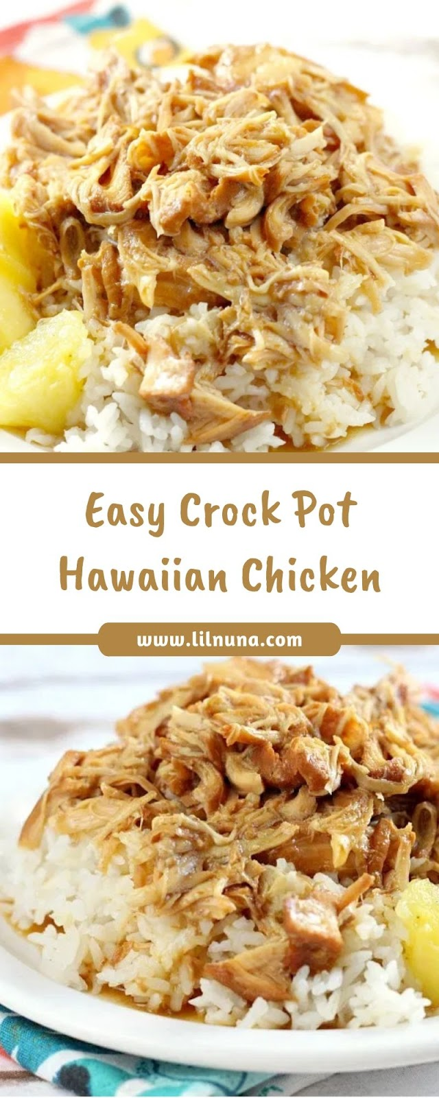Easy Crock Pot Hawaiian Chicken
