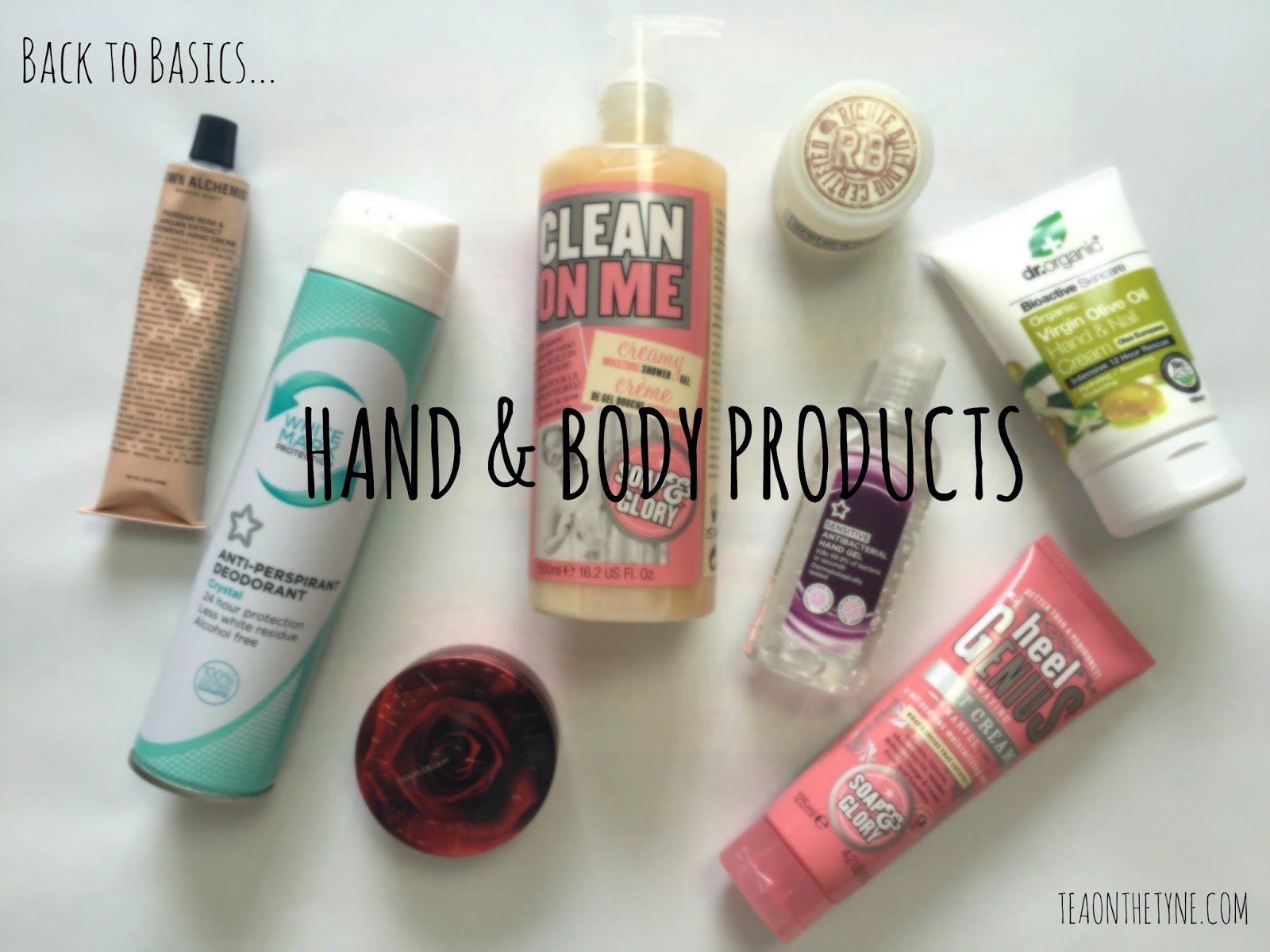 Cruelty Free Vegan Hand and Body Products