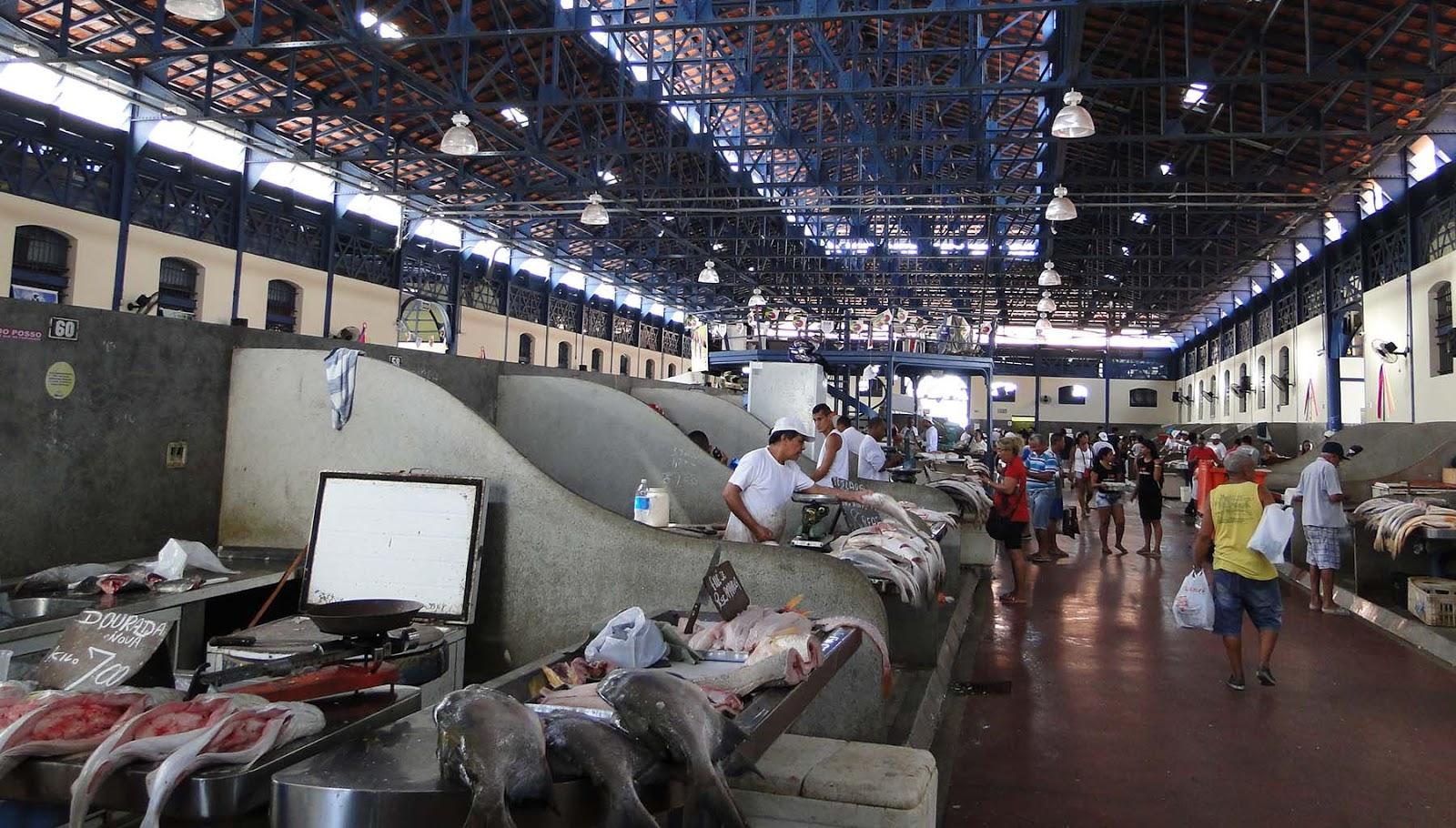 Mercado de Peixes, Belém do Pará.