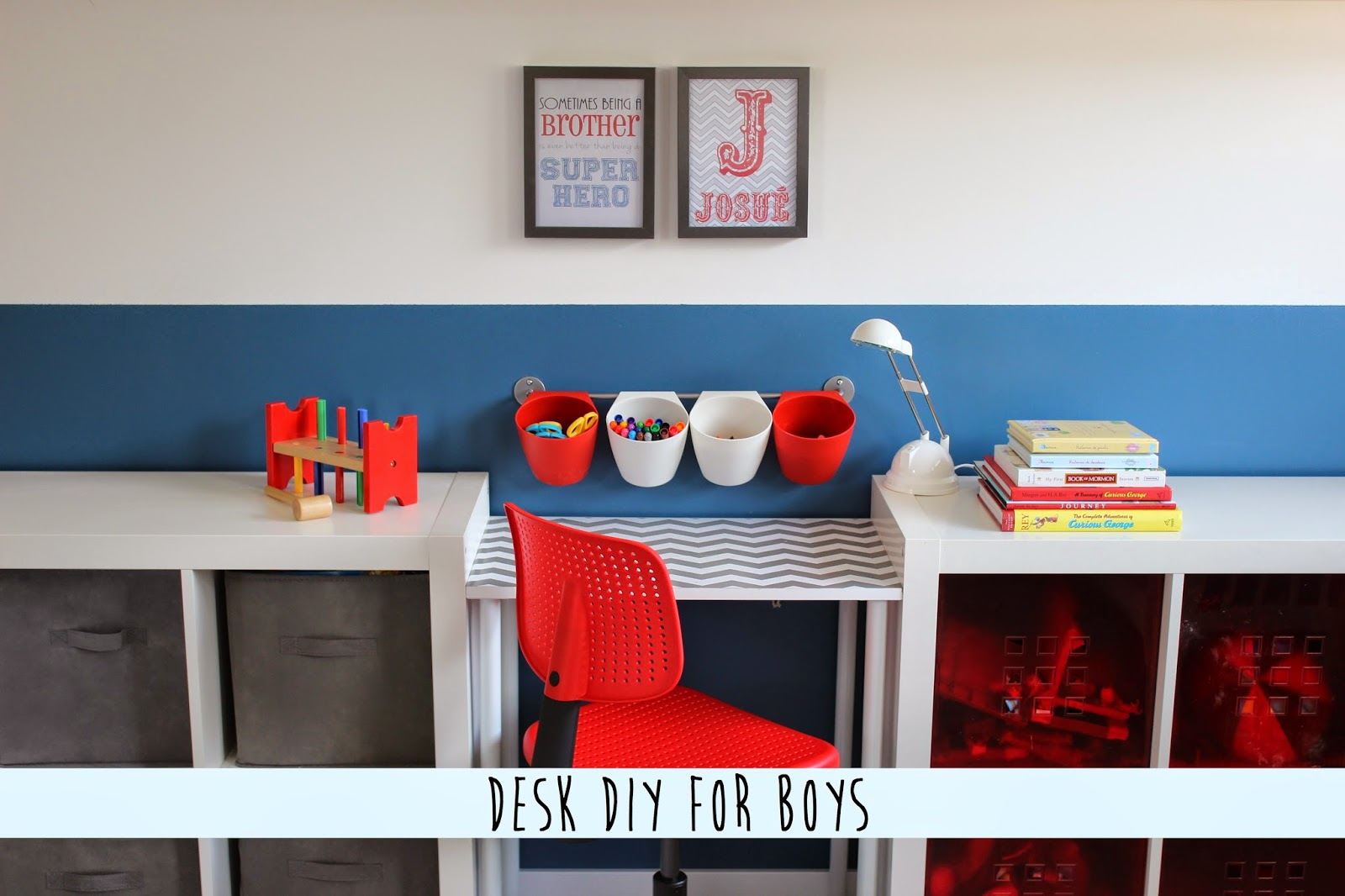 http://www.tryintomakeahome.blogspot.fr/2014/04/desk-diy-for-boys.html