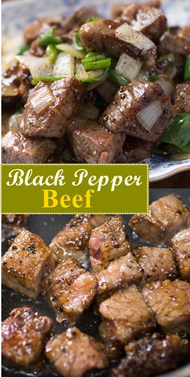 Black Pepper Beef #dinnerrecipes