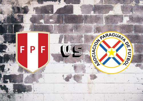 Perú vs Paraguay  Resumen y Partido Completo