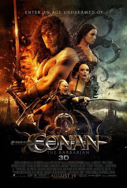 Poster Of Conan The Barbarian 2011 UnRated 720p Hindi BRRip Dual Audio Download