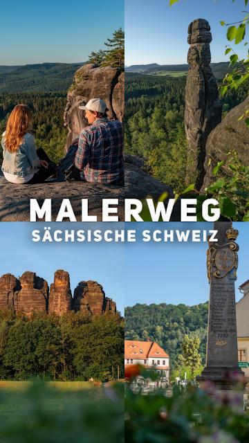 Malerweg Etappe 7 | Von Kurort Gohrisch bis Weißig | Wandern Sächsische Schweiz | Pfaffenstein – Festung Königstein 33