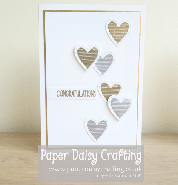 Meant to Be Stiched Be Mine Stampin Up wedding cards