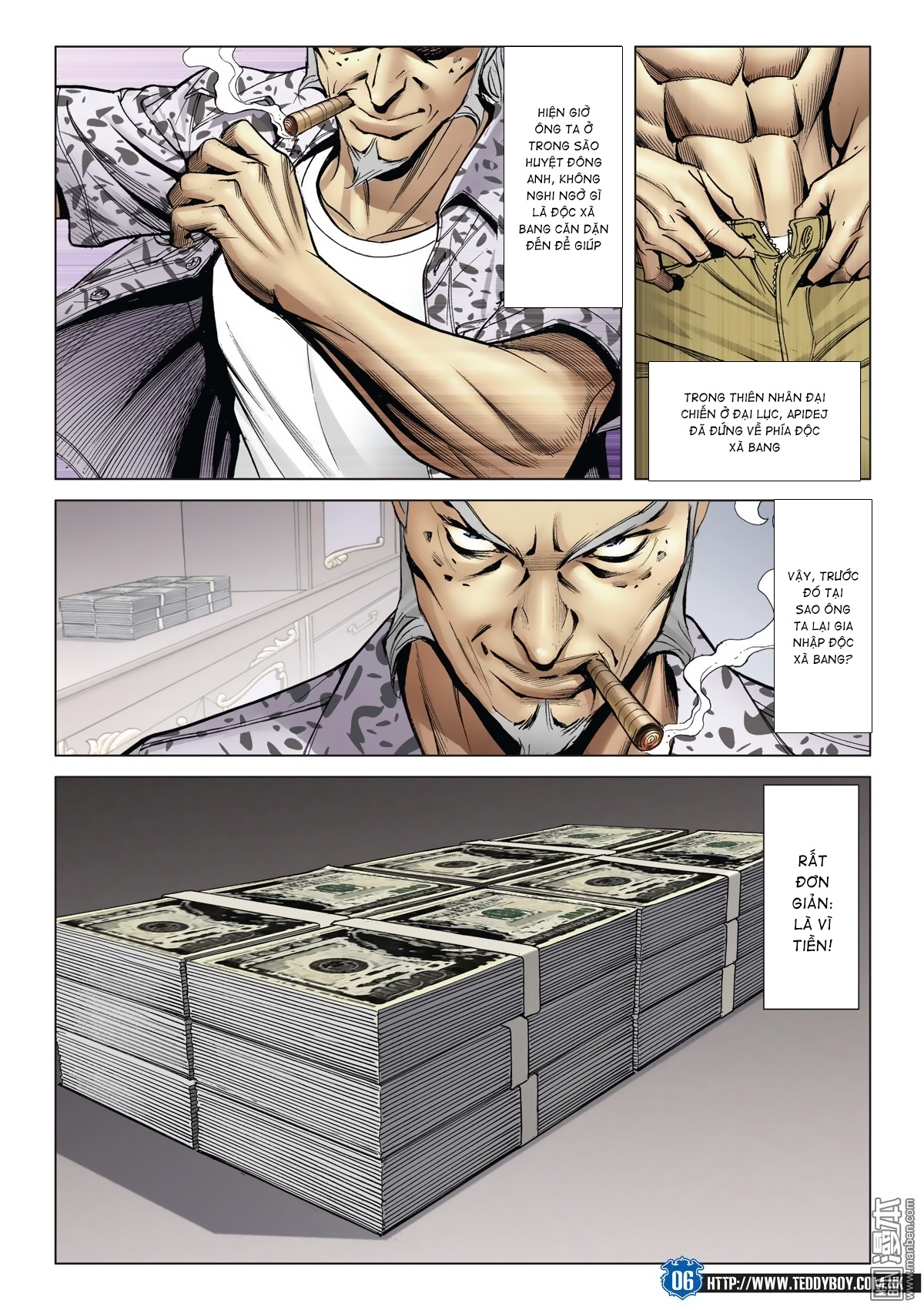 Người Trong Giang Hồ chapter 2026: khí diệm tông sư trang 5