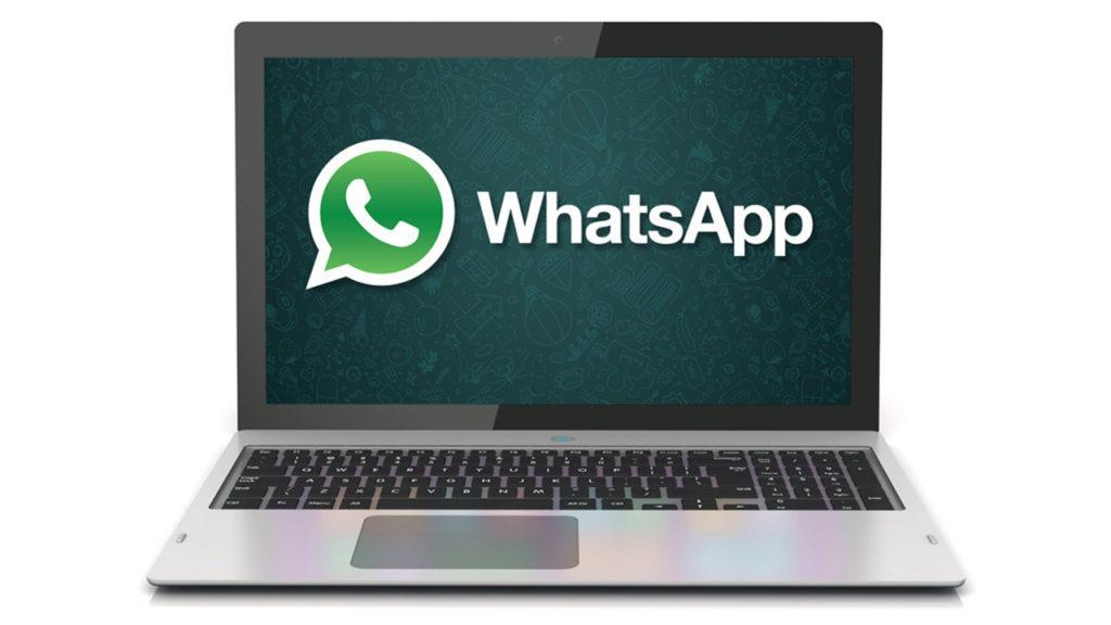 immagine con passaggi per spedire un messaggio WhatsApp con la posizione da PC o MAC