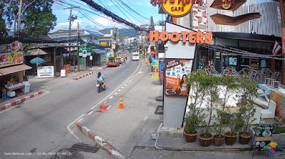 câmeras ao vivo da Tailândia
