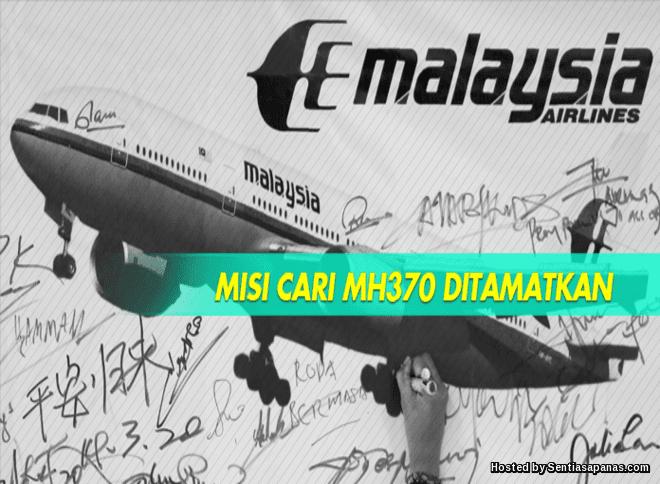 Carian MH370 ditamatkan