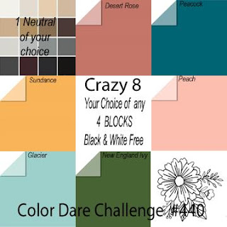 #CTMHVandra,Colour dare,  Colour Dare Challenge, Rainbow, thin cuts, clouds, mix-in paper packet, cardstock, thinking of you, cardmaking, crazy 8, masking, stamping
