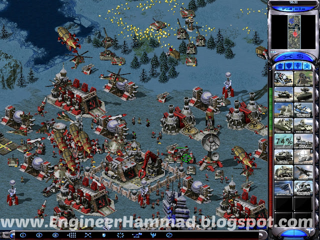 screen shots of red alert 2