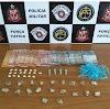 Força Tática apreende drogas com suspeito de tráfico que tentou fugir dos policiais
