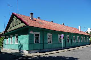 Пінськ. Вул. Дніпровської Флотилії. Житловий будинок