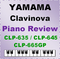 Yamaha Clavinova CLP-635, CLP-645, CLP-665GP / Digital Piano / Review