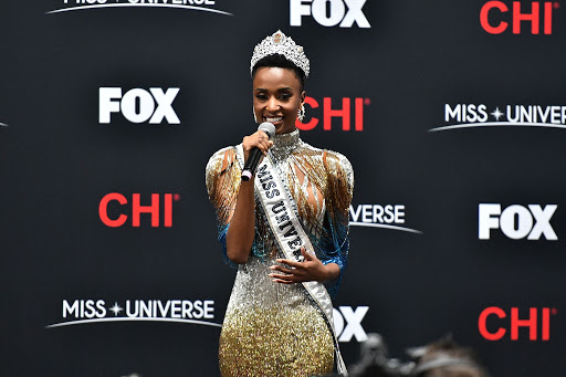 Tunzi's 2019 crowning gown,