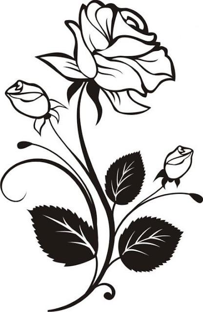 gambar tatoo mawar