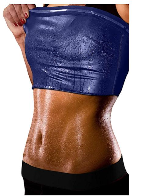 HSR Sweat Shapewear Vest Belt for Women, Polymer Shapewear, Workout for Weight Loss Waist Body Slimming, Trainer
