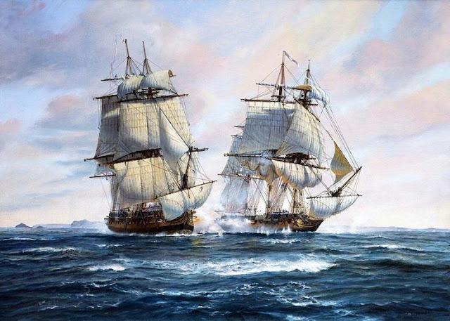 Pinterest - Albert Butler - Napoleonic Wars at Sea