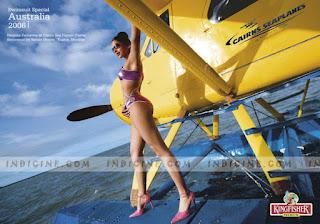 Deepika Padukone In Purple Bikini 2