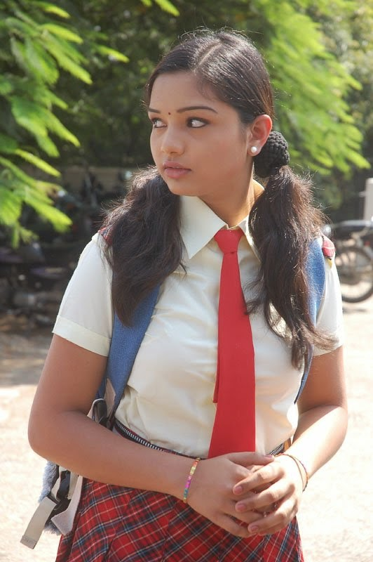Indian School Girl Bobs