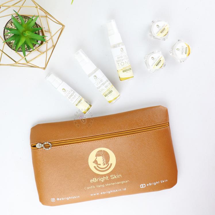 Review eBright Skin Glow White Travel Kit