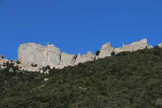 Le château de Peyrepertuse, l'un des plus beaux châteaux cathares