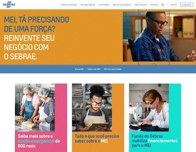 Sebrae lança campanha para ajudar o MEI superar a crise do coronavírus