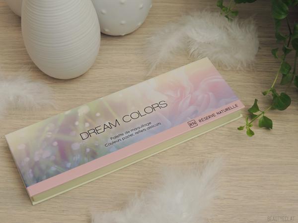 revue avis test reserve naturelle palette dream colors