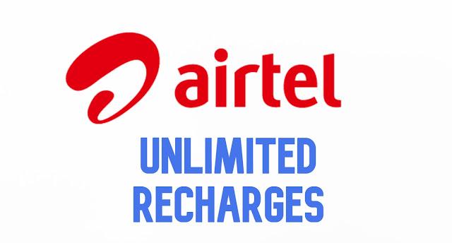 Airtel unlimited data plan Prepaid