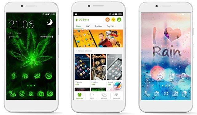 Go Launcher Tema Android Terbaik