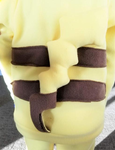 DIY Pikachu Costume Hoodie