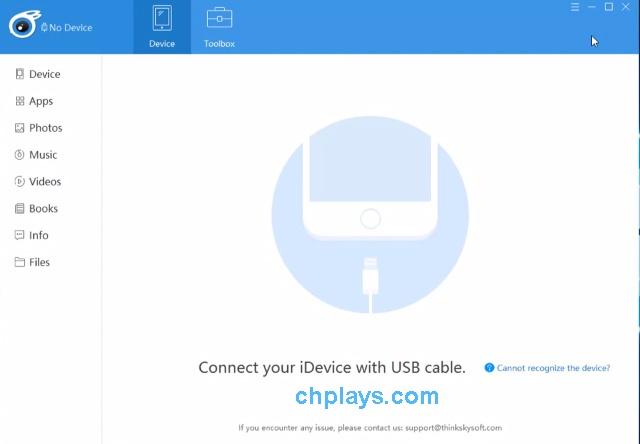 Download iTools - Sao lưu, copy dữ liệu iPhone, iPad mới nhất d