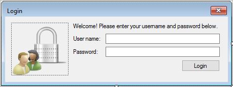 login form c#