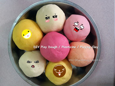DIY Play Dough / Plasticine / Playing Clay for Kids