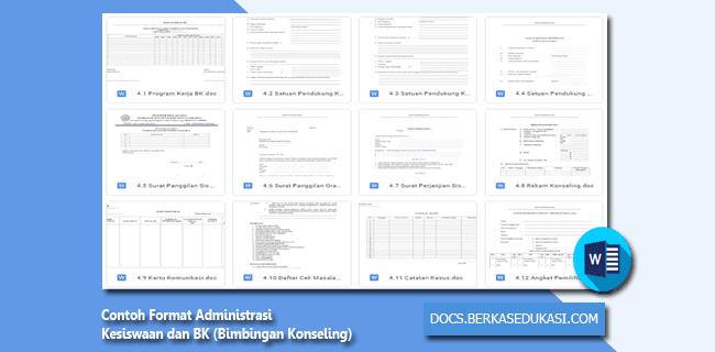 Contoh Format Administrasi Kesiswaan dan BK (Bimbingan Konseling)