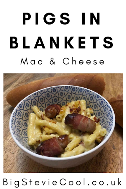 Pigs in Blankets Mac and Cheese Recipe by Big Stevie Cool